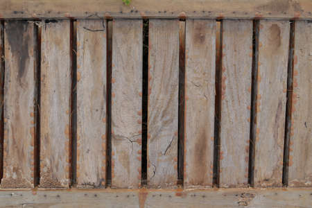 rudeness: Wood fence brown texture background