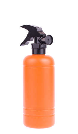 smother: bottle plastic model of Fire safety isolated on white background