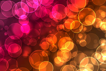 flit: beautiful bokeh on a colorful background Stock Photo