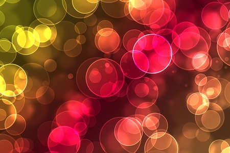 beautiful bokeh on a colorful background Stock Photo