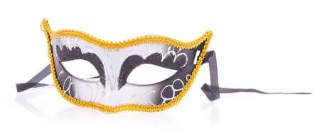 guise: Fancy Festive glitter mask isolated on white background