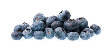luscious: blueberry fruits isolated on white background