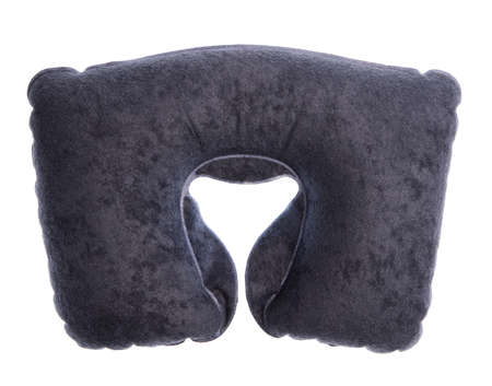 neck pillows isolated on white background Stock Photo