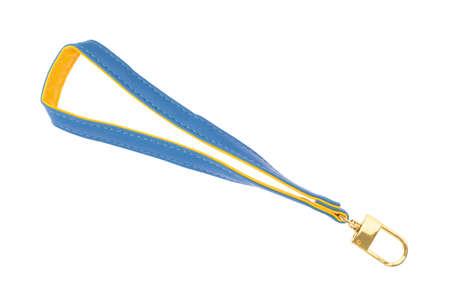 keychain strap isolated on white background