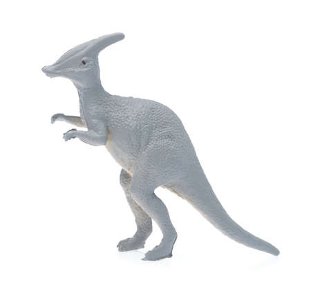 toy small dinosaur isolated on white background Imagens