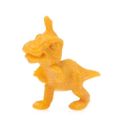 dinosaur toy isolated on white background