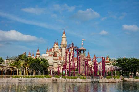 SINGAPORE - FEBRUARY 17, 2017: Universal studios Singapore