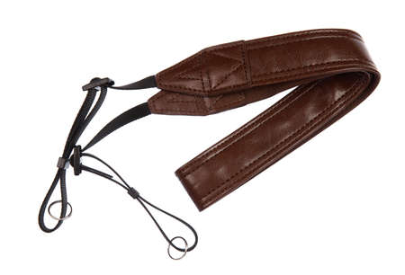 camera strap isolated on a white background