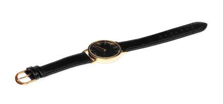 luxury watch isolated on white background Stock Photo - 124027744