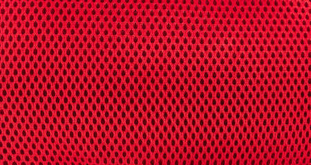 Red Background Mesh fabric