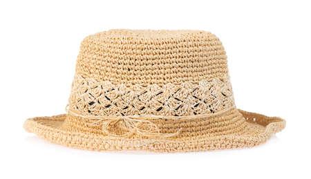Summer hat isolated on white background Imagens - 124889609