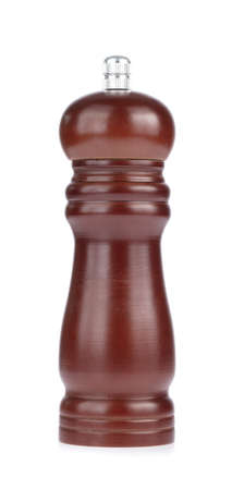 Pepper mill isolated on white background Imagens