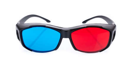 3D glasses isolated on a white background -