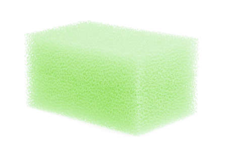 sponge for cleaning kitchen isolated on white background