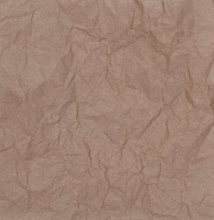 Brown of Crumpled Paper Texture