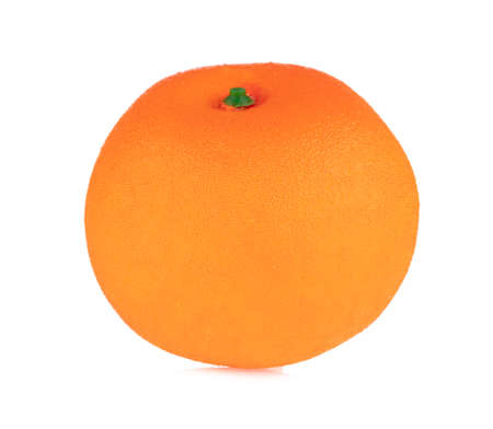 Orange for decoration artificial fruit ornaments artificial foam fake imitation isolated on white background
