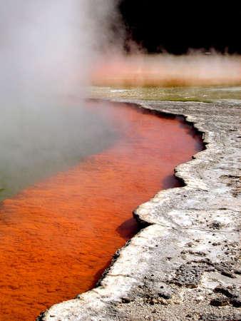 Geothermal Activity in Rotorua, New Zealand
