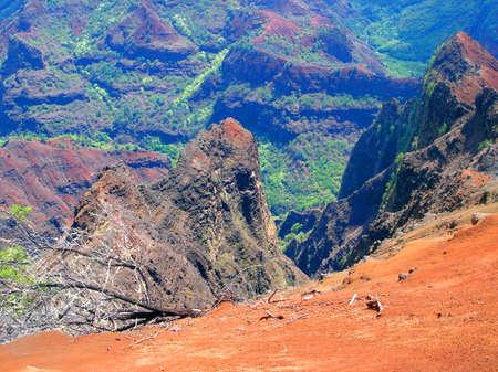 waimea canyon state park: Waimea Canyon, Kauai, Hawaii