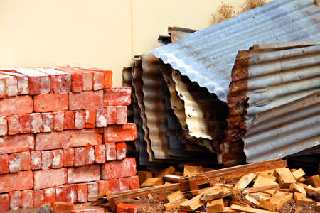 Demolition Site Collections Stock fotó