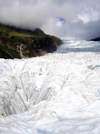fox glacier: Fox Glacier, New Zealand