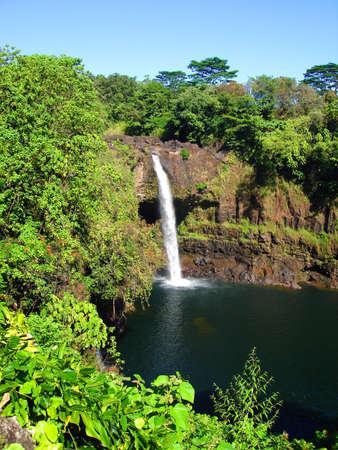 Rainbow Falls, Big Island, Hawaii Stock fotó