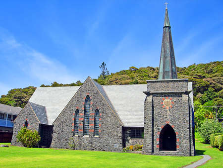 st pauls: St Pauls Anglican Church, Paihia, Bay of Islands, New Zealand