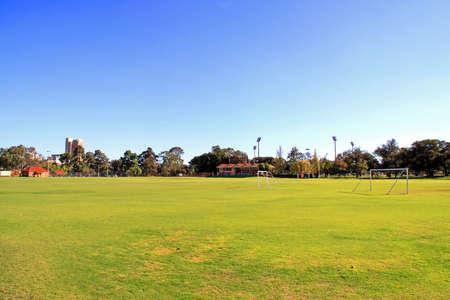 adelaide: Soccer Sports Field, University Oval, Adelaide, Australia