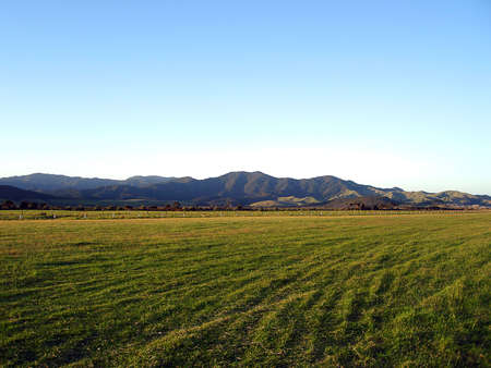 Okiwi Airport Runway, Okiwi, Great Barrier Island, New Zealand Stock Photo - 6408520