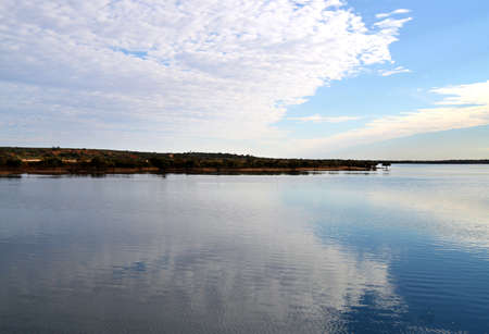 waters: Outback Reflections, near Redbanks  top of Spencer Gulf , Port Augusta, South Australia Stock Photo
