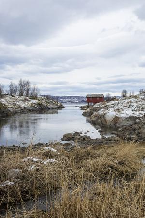 Maelstrom of Saltstraumen, Nordland, Norway photo