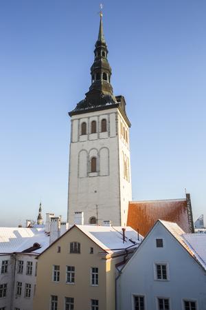 wind vane: St. Nicholas Church, Tallinn Estonia