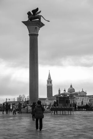 san marco: View of Piazza San Marco, Venice Italy Editorial