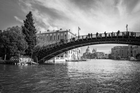 academia: ponte de l Academia, Venice, Italy Editorial