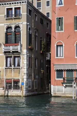 grand canal: View on the Grand Canal, Venice Italy