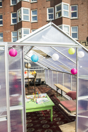 local festivals: Amsterdam, The Netherlands, 12-14 September 2014, at Westival, a free open air Cinema and culture festival on Mercatorplein. art installation, close encounter Editorial