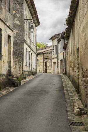 saint emilion: Street of French medieval village Saint Emilion, France