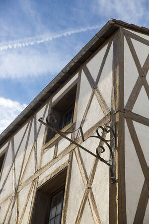 're: Half-timbered French medieval house, Saint Martin de Re, France
