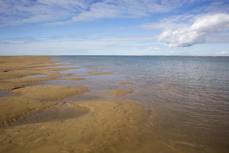 maritime seaside landscape, garonne estuary near Royan, France