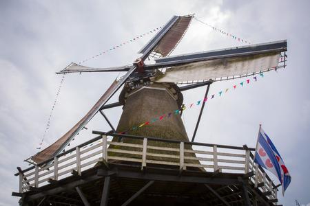 dutch typical: Typical Dutch Windmill