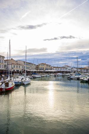 Port of Saint Martin De Re, Ile de Re, France