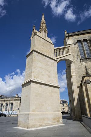 Saint-André cathedral, Bordeaux, France Stock Photo