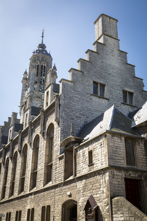 Old medieval townhall of Middelburg, The Netherlands