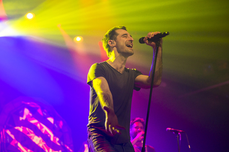 Amsterdam, The Netherlands, 8 November 2016: concert of  Australian ska and jazz band The Cat Empire at venue Melkweg