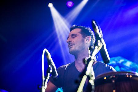 angus: Amsterdam, The Netherlands, 8 November 2016: concert of  Australian ska and jazz band The Cat Empire at venue Melkweg