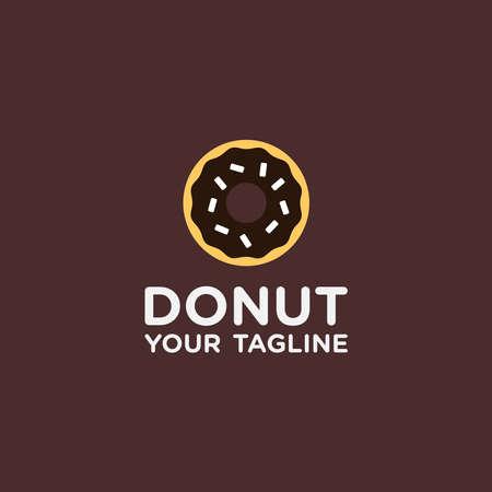Donuts Logo Design Template
