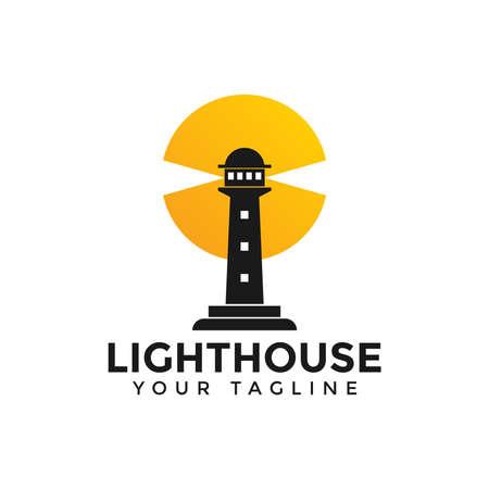 Lighthouse, Beacon Logo Design Template