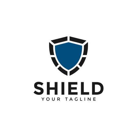 Abstract Shield, Security, Defense, Protector Logo Design