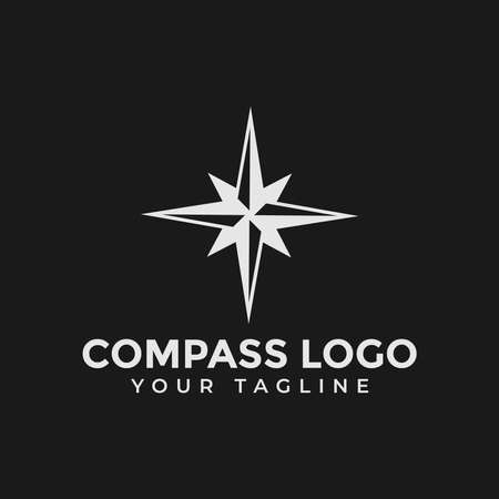 Compass, Navigation, Adventure Logo Design Template 向量圖像