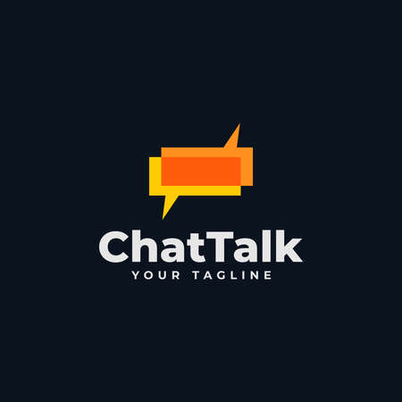 Talk Bubble, Chat, Consulting, Discussion, Comment Logo Design