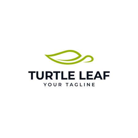Simple Elegant Sea Turtle Logo Design Template